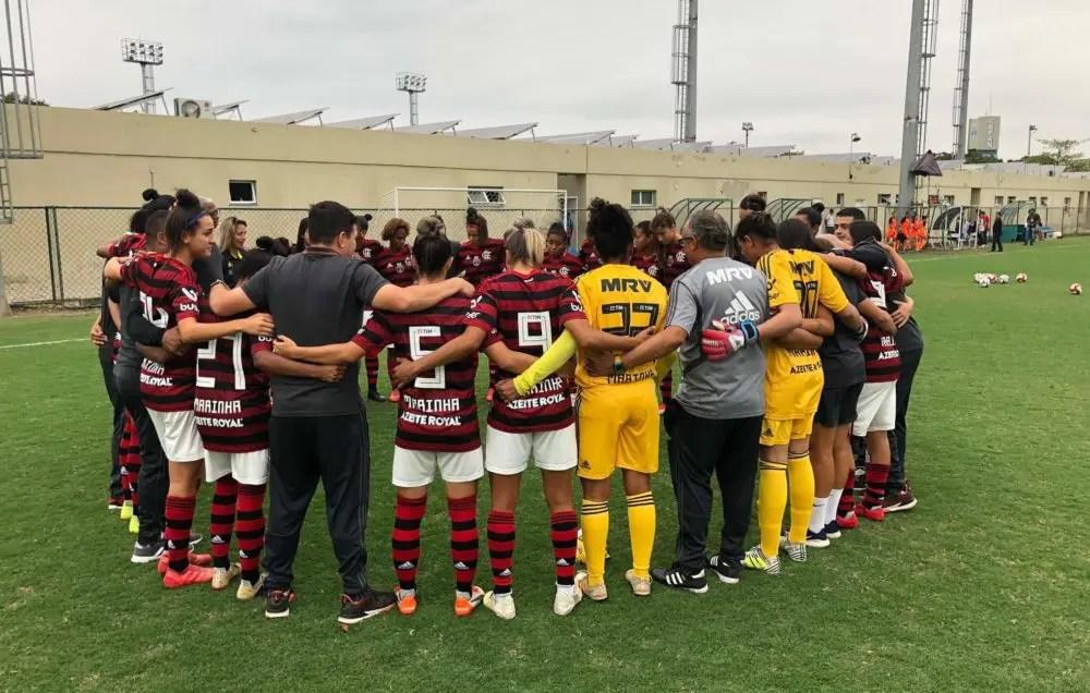 Em sua estreia pela equipe, Samhia faz cinco e Flamengo goleia no Carioca Feminino