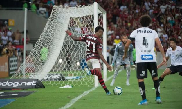 Notas e atuações de Flamengo 1×0 Santos