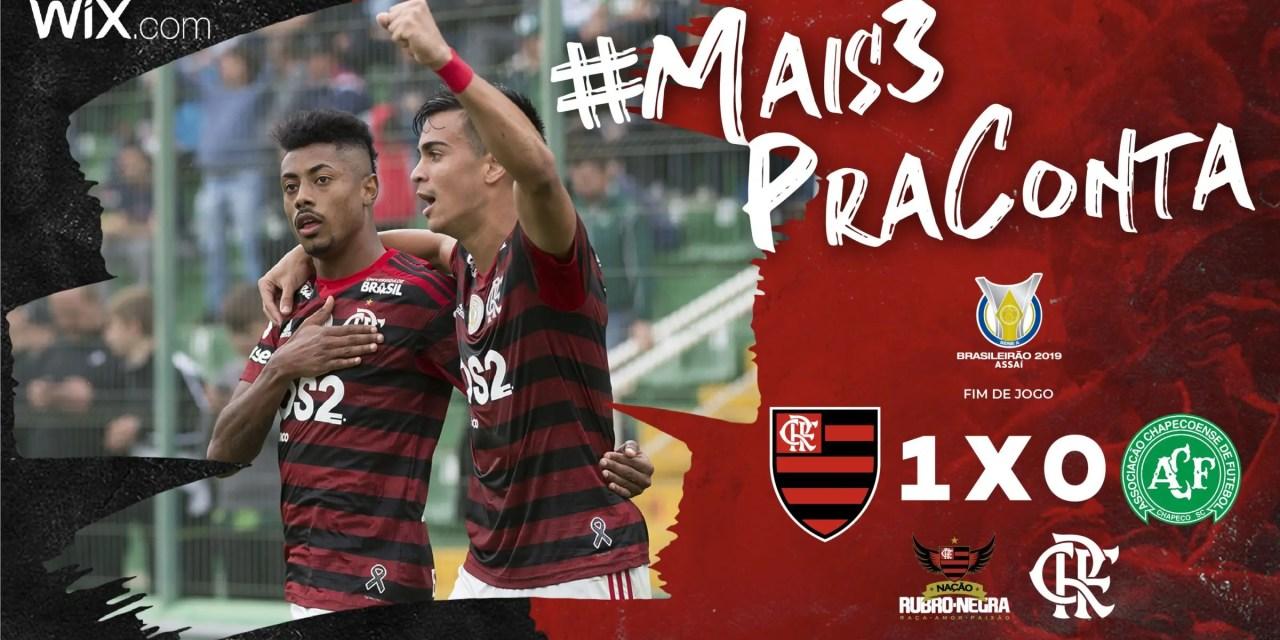 Flamengo vence a Chape e atinge marca histórica no Brasileiro; entenda