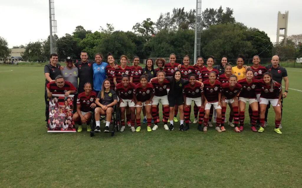 Com quatro gols de Rafa Barros, Flamengo/Marinha goleia Seleção da CUFA