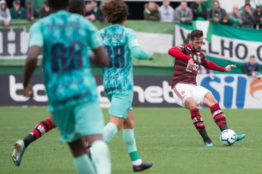 Notas e atuações de Chapecoense 0x1 Flamengo