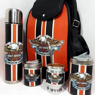 Set matero con diseño de Harley colección FAR