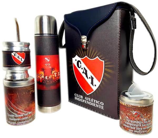 Set matero del Club Independiente colección FLOR
