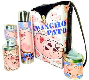 Set matero de Chancho Pato colección FLOR