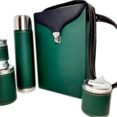 Set matero color Verde liso colección FLOR