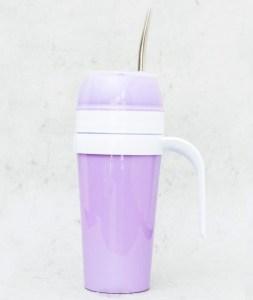 Mate autocebante de Plástico color violeta claro