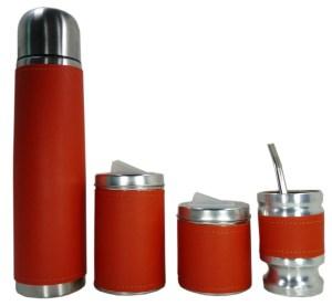 Set matero sin bolso por mayor color Naranja