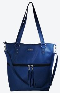 Cartera color azul marino