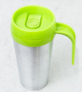Vaso termico cafe mug color verde limon