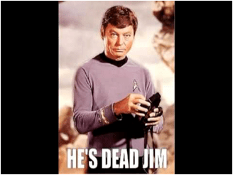 Mundostartrek: esta muerto Jim