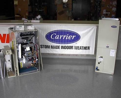 carrier showroom
