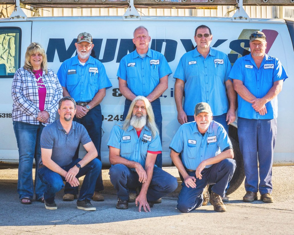 service techs and staff