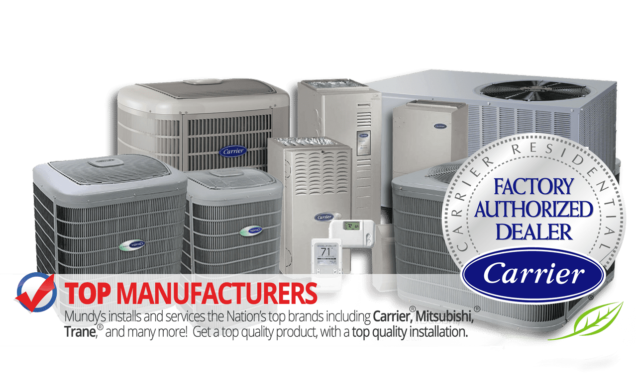 Heating and Air Conditioning Services GA NC TN | Mundy's
