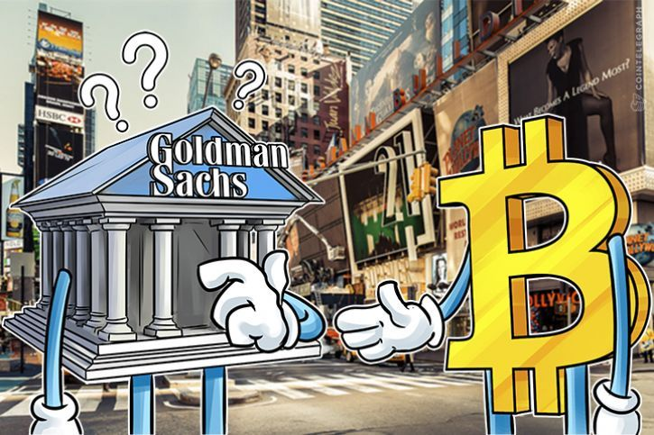 Goldman Sachs CEO Open to Considering Bitcoin
