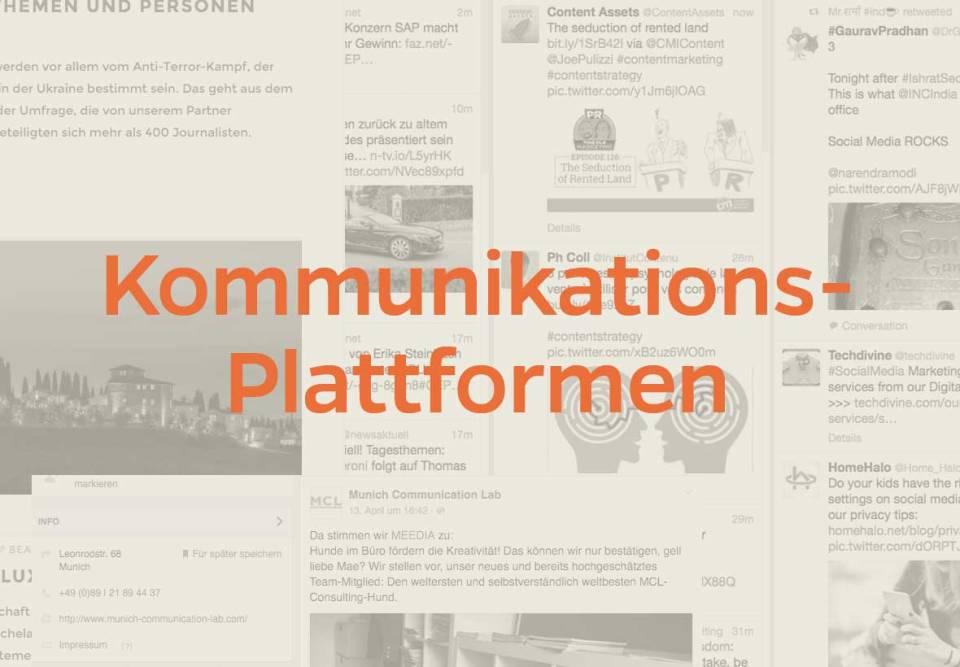 MCL Kommunikationsplattformen