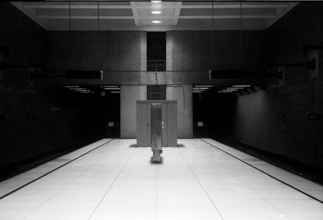 empty muni station