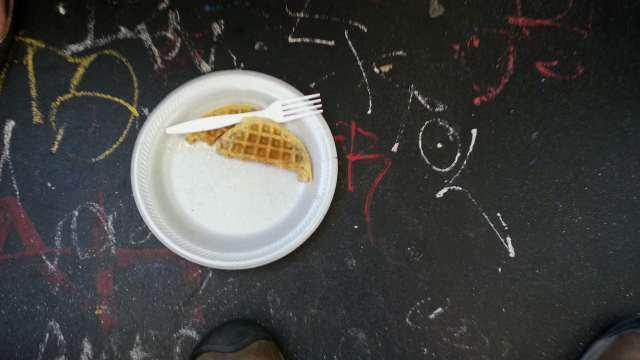 waffle on muni