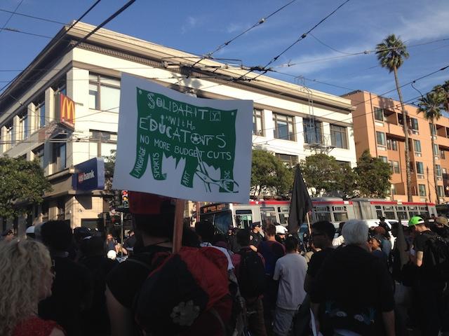 protest sign muni
