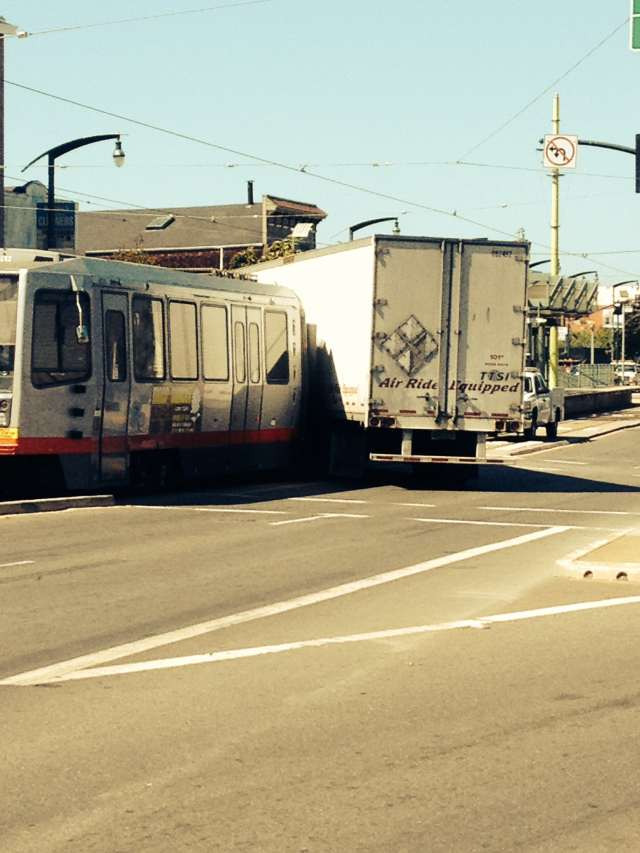 t-train collision