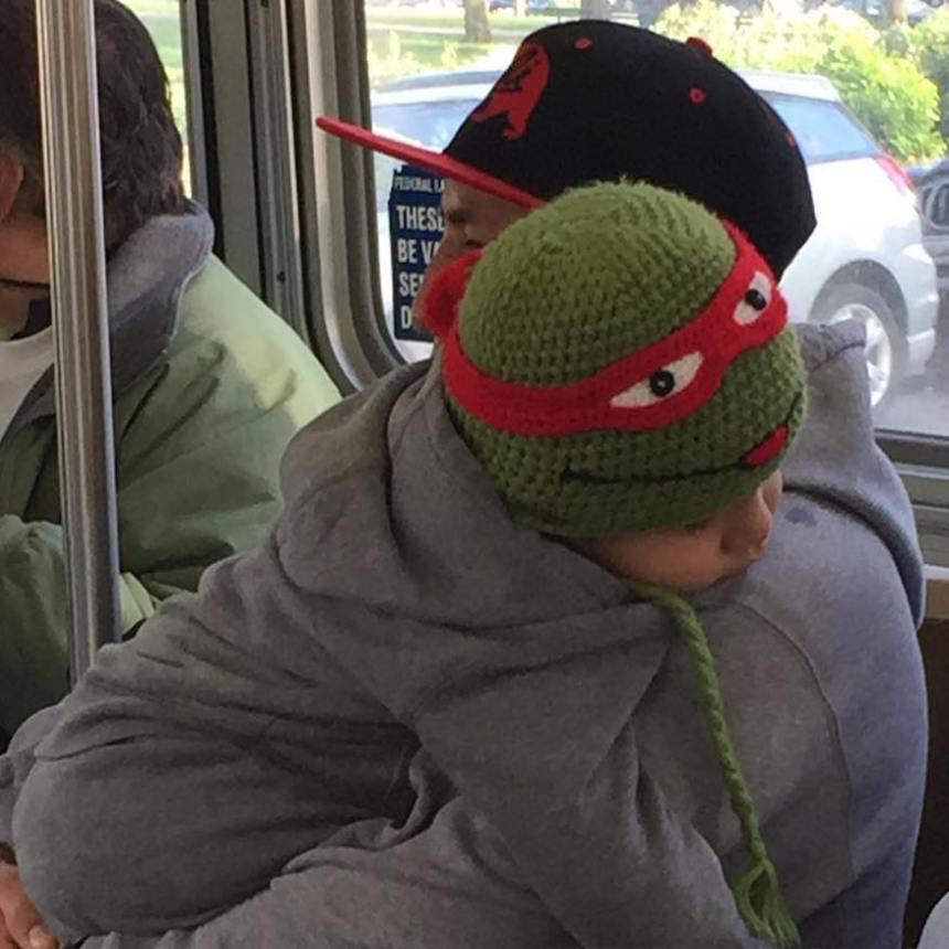 ninja turtle kid muni diaries