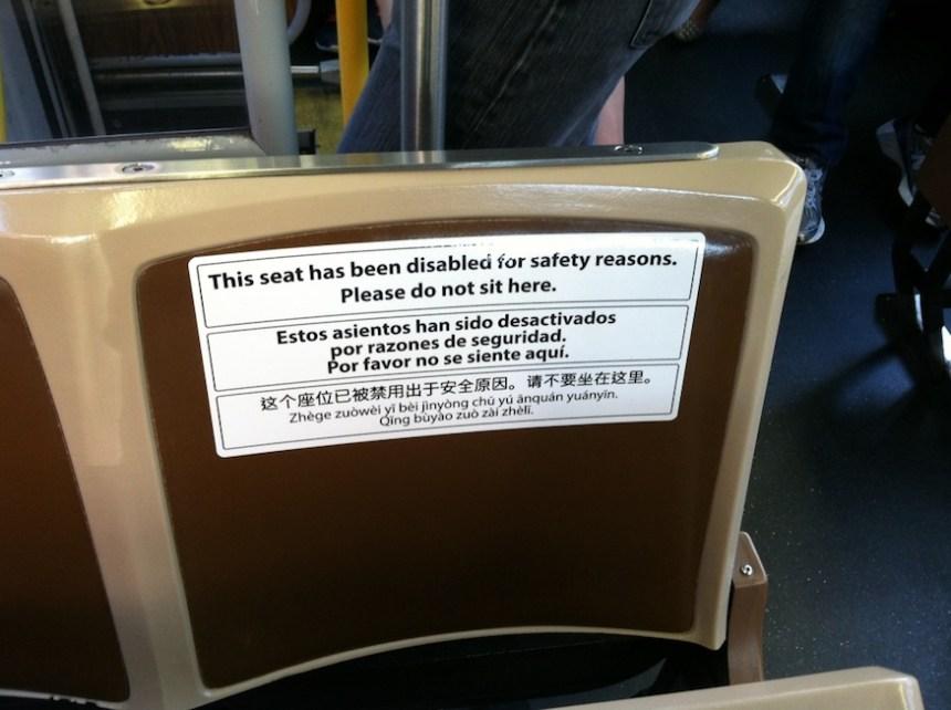 muni disabled safety seat sfgate