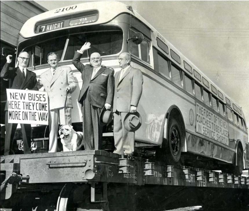 Muni bus vintage via sfgate