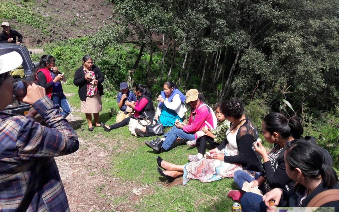 Lideres comunitarios en trabajo de resiliencia al cambio climático