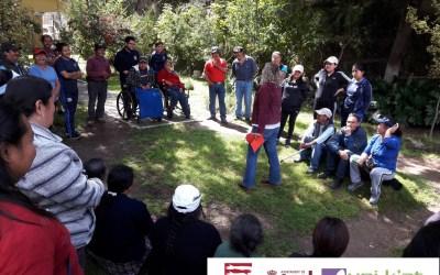 Taller sobre Derechos Humanos y accesibilidad en el Municipio de Salcajá.