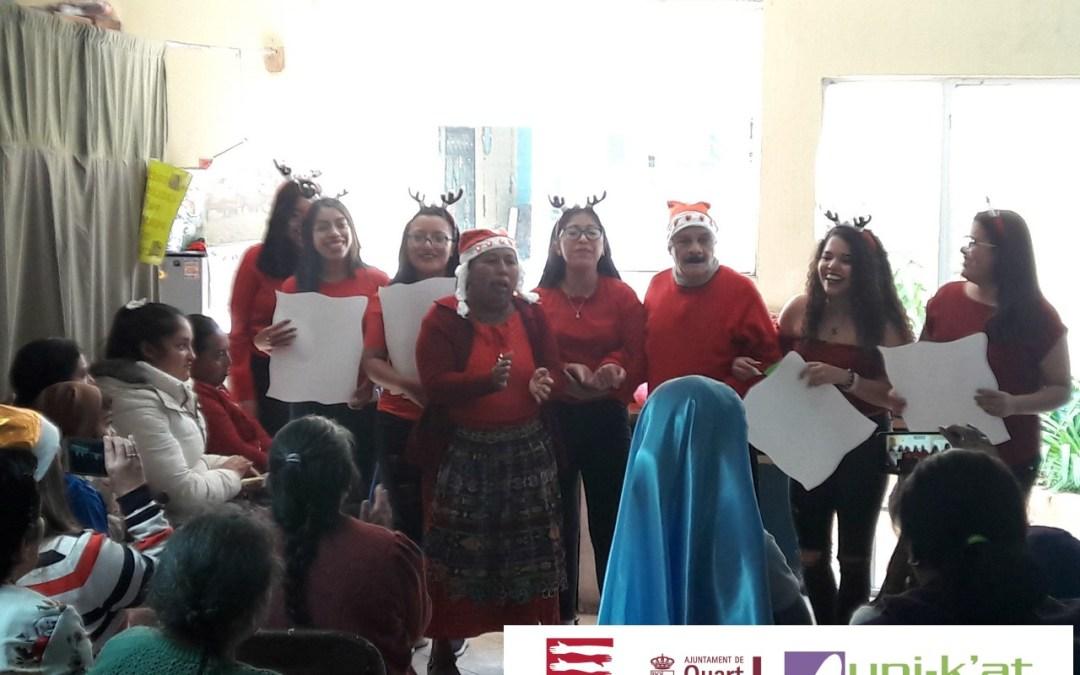 Se organiza posada navideña para personas con discapacidad en el Municipio de Salcajá.