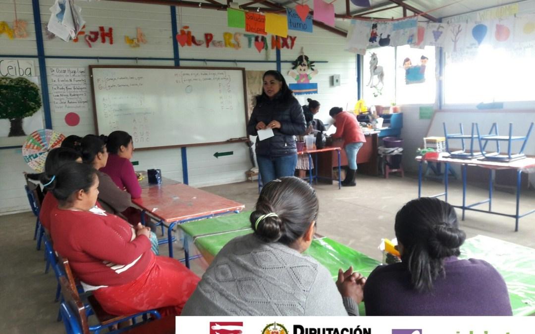 Grupos de mujeres formadas sobre el rol de la mujer y su contribución en la adaptación al cambio climático.