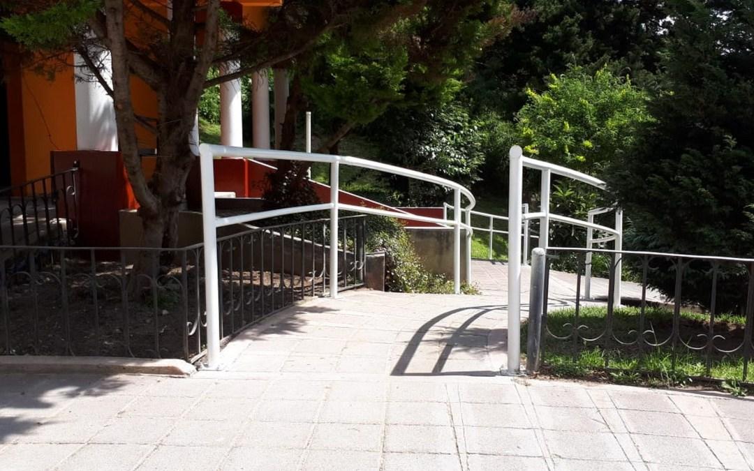 Entrega de rampas inclusivas al Municipio de Salcajá.