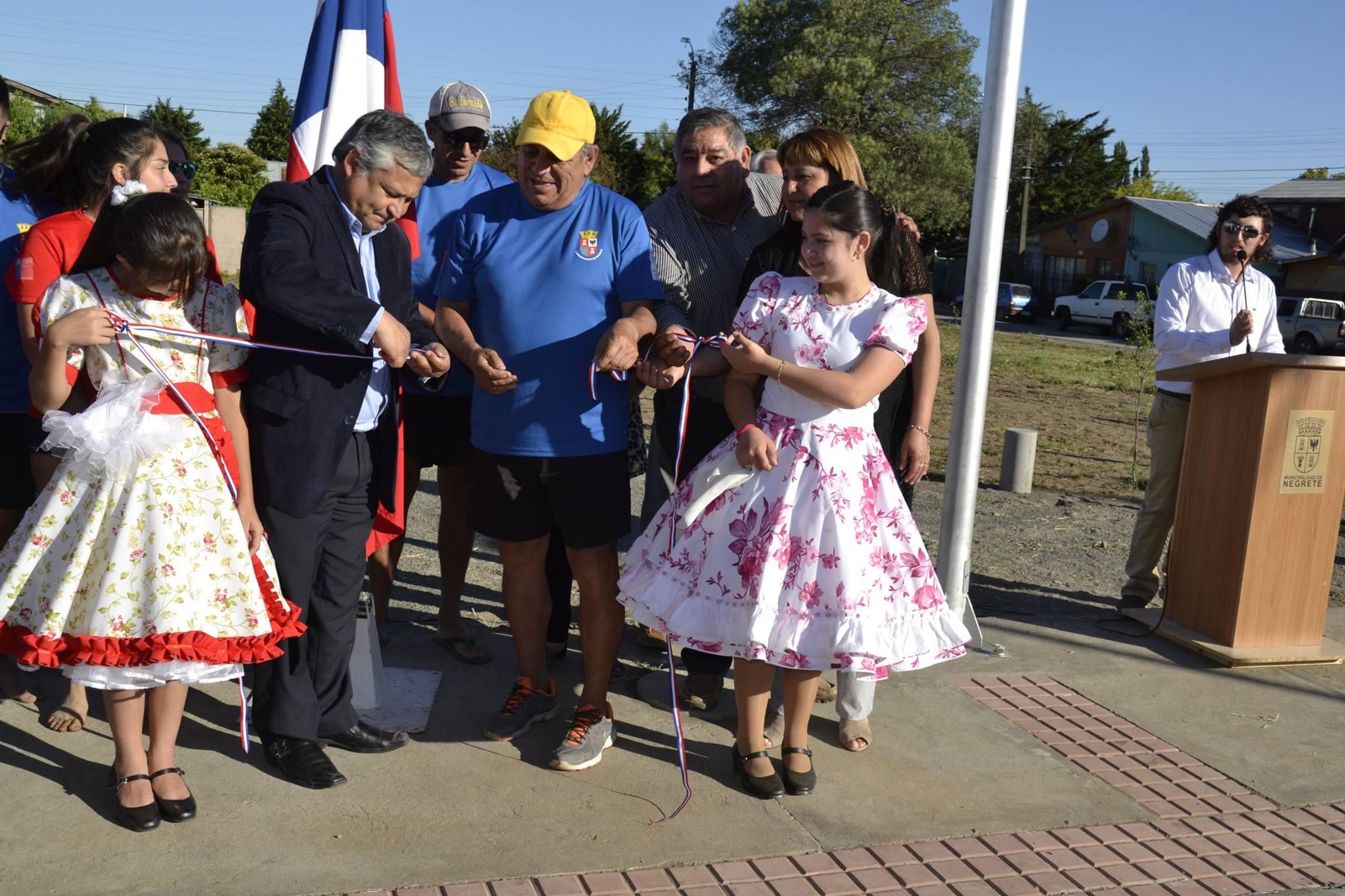 NEGRETE CONVIERTE POLO  DE DELINCUENCIA EN PLAZA CIUDADANA INCLUSIVA