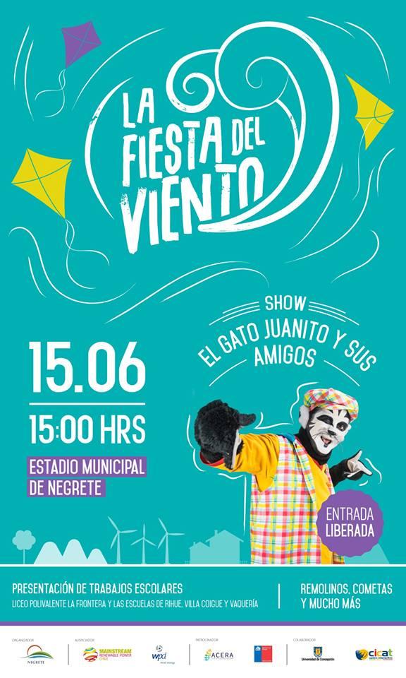 Invitación 'Fiesta del Viento'
