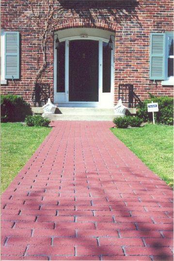 concrete paving, decrative,