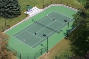 Residential Tennis Court Construction