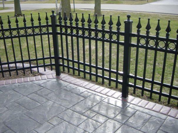 iron fence, milwaukee, fencing