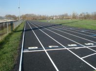 Running track construction Waukesha