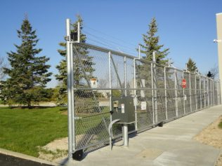 Commercial Chain Link Gate