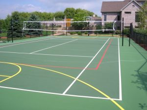 Sport Court Construction, Tennis court
