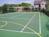 Sport Court Construction, Tennis court, Tennis court paving