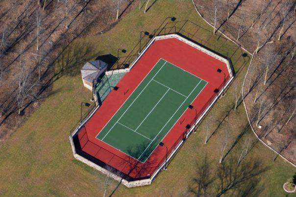 tennis court construction and repair milwaukee and waukesha