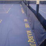 indoor tennis court construction, milwukee, tennis court court construction