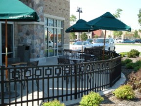 Decorative Fencing, Commercial Fencing, Milwaukee Wisconsin, Fence repair, new fence, fence installation, commercial fence