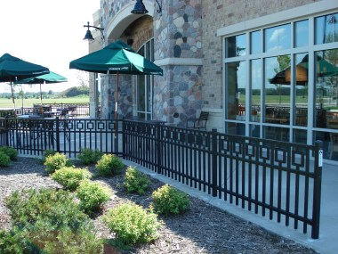 commerical fencing, contractor, fences, milwaukee