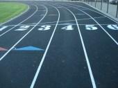 running track paving, Milwaukee, Wisconsin, Running track construction