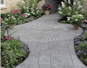 Decorative concrete creates beautiful, inviting entries for your customers and guests.