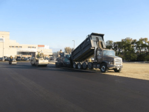 Paving, asphalt paving, parking lot paving, parking lot construction, commercial asphalt, Milwaukee