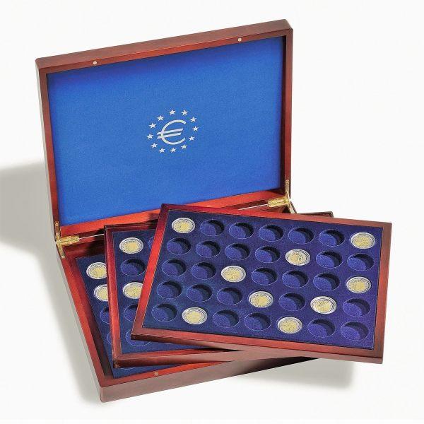 Numismatische cassette voor 2 euromunten