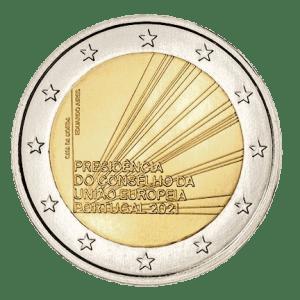 2 EURO Portugal 2 euro Portugal Voorzitterschap van de Raad van de Europese Unie