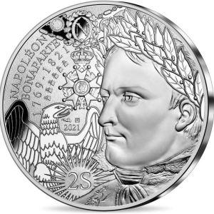 10€ Napoleon zilvermunt